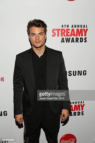 Musician Josh Golden attends the 4th Annual Streamy Awards presented by CocaCola on September 7 2014 in Beverly Hills California