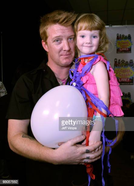 ACCESS*** Musician Josh Homme and daughter Camille Harley Homme attend the first ever Yo Gabba Gabba 'There's A Party In My City' live performance at...