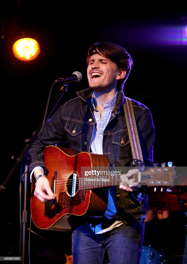 Musician Josh Norton of Beeswax performs onstage at El Cid on November 15, 2013 in Los Angeles, California.