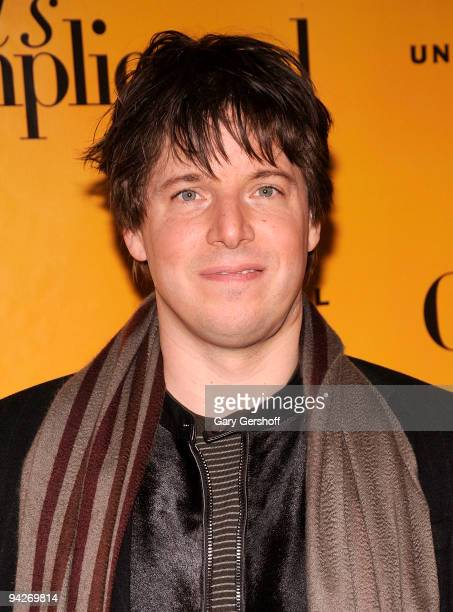 Musician Joshua Bell attends the 'It's Complicated' special screening at the Chelsea Clearview Cinema 9 on December 10 2009 in New York City