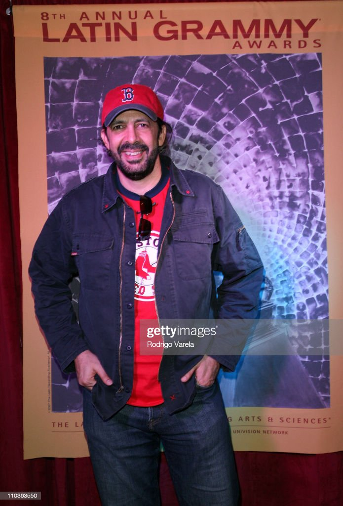 Musician <a gi-track='captionPersonalityLinkClicked' href=/galleries/search?phrase=Juan+Luis+Guerra&family=editorial&specificpeople=208921 ng-click='$event.stopPropagation()'>Juan Luis Guerra</a> at the 8th Annual Latin GRAMMY Awards Univision Radio Remotes Room at Mandalay Bay on November 5, 2007 in Las Vegas, Nevada.