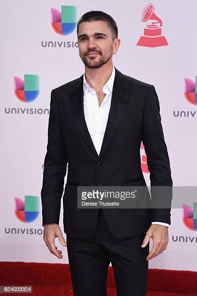 Musician Juanes attends The 17th Annual Latin Grammy Awards at TMobile Arena on November 17 2016 in Las Vegas Nevada