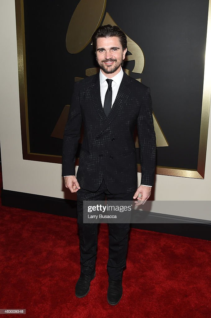 Musician <a gi-track='captionPersonalityLinkClicked' href=/galleries/search?phrase=Juanes&family=editorial&specificpeople=202467 ng-click='$event.stopPropagation()'>Juanes</a> attends The 57th Annual GRAMMY Awards at the STAPLES Center on February 8, 2015 in Los Angeles, California.