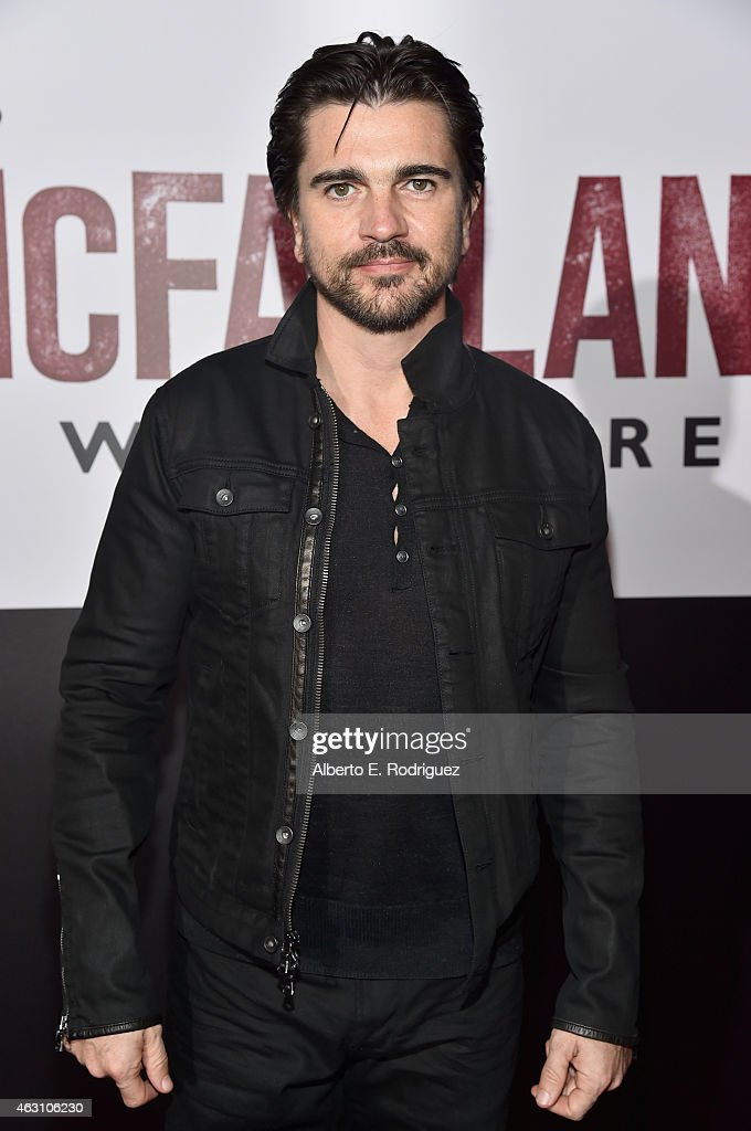Musician <a gi-track='captionPersonalityLinkClicked' href=/galleries/search?phrase=Juanes&family=editorial&specificpeople=202467 ng-click='$event.stopPropagation()'>Juanes</a> attends the world premiere of 'McFarland, USA' at The El Capitan Theatre on February 9, 2015 in Hollywood, California.