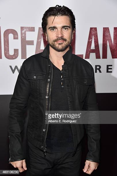 Musician Juanes attends the world premiere of 'McFarland USA' at The El Capitan Theatre on February 9 2015 in Hollywood California