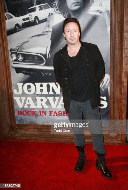Musician Julian Lennon arrives to the 'John Varvatos Rock In Fashion book launch celebration held at John Varvatos Los Angeles on November 7 2013 in...
