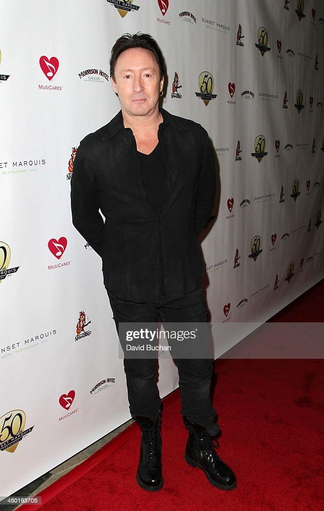 Musician <a gi-track='captionPersonalityLinkClicked' href=/galleries/search?phrase=Julian+Lennon&family=editorial&specificpeople=211480 ng-click='$event.stopPropagation()'>Julian Lennon</a> attends the Sunset Marquis Hotel 50th Anniversary Birthday Bash at Sunset Marquis Hotel & Villas on November 16, 2013 in West Hollywood, California.