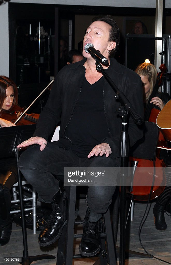 Musician Julian Lennon performs at the Sunset Marquis Hotel 50th Anniversary Birthday Bash at Sunset Marquis Hotel & Villas on November 16, 2013 in West Hollywood, California.