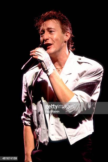 Musician Julian Lennon performs onstage Chicago Illinois July 1 1986