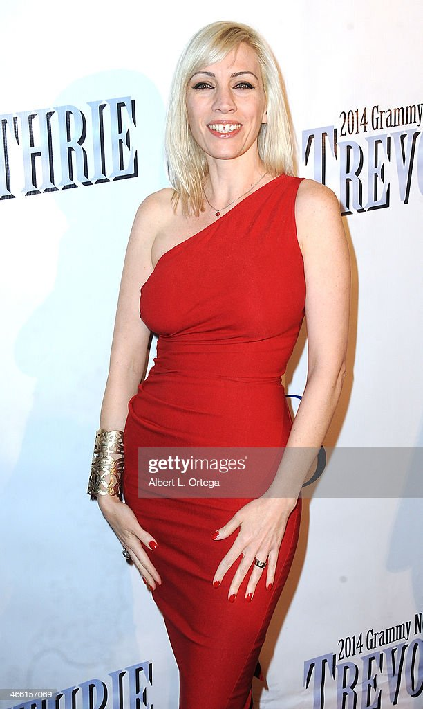 Musician Juliette Beaven arrives for Pre-Grammy Celebration Party For Trevor Guthrie held at Acabar on January 25, 2014 in Los Angeles, California.