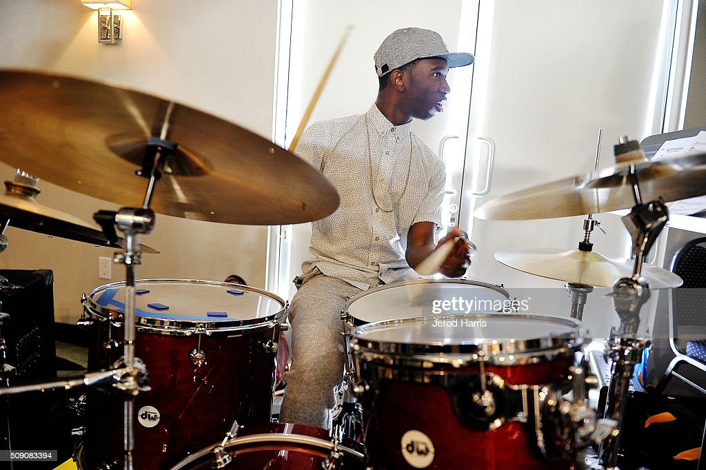 Musician Julius Rodriguez performs at The 58th GRAMMY Awards - GRAMMY Camp - Jazz Session Rehearsals on February 8, 2016 in Marina del Rey, California.