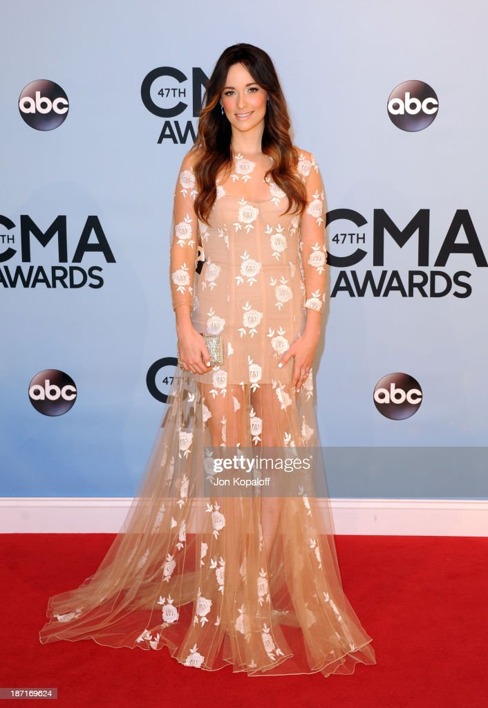 Musician Kasey Musgraves attends the 47th annual CMA Awards at the Bridgestone Arena on November 6, 2013 in Nashville, Tennessee.