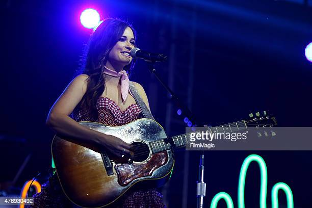 Musician Kacey Musgraves performs onstage at That Tent during Day 2 of the 2015 Bonnaroo Music And Arts Festival on June 12 2015 in Manchester...