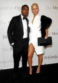 Musician Kanye West and model Amber Rose attend The Metropolitan Opera's 125th Anniversary Gala at The Metropolitan Opera House Lincoln Center on...