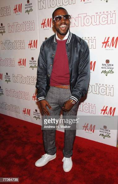 Musician Kanye West attends In Touch Weekly's 5th Anniversary celebration on October 10 2007 in New York City