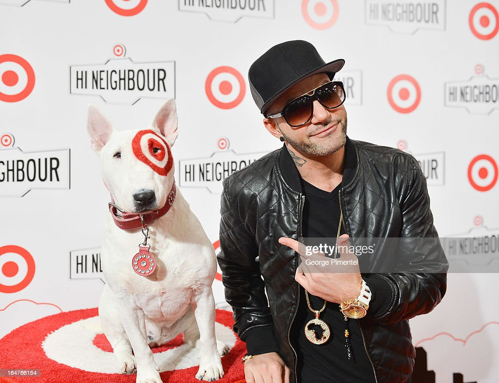 Musician Karl Wolf attends the opening of Target At Shoppers World Danforth on March 27, 2013 in Toronto, Canada.