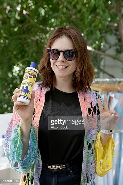 Musician Kate Nash attends Kari Feinstein's Music Festival Style Lounge at Sunset Marquis Hotel Villas on April 8 2015 in West Hollywood California