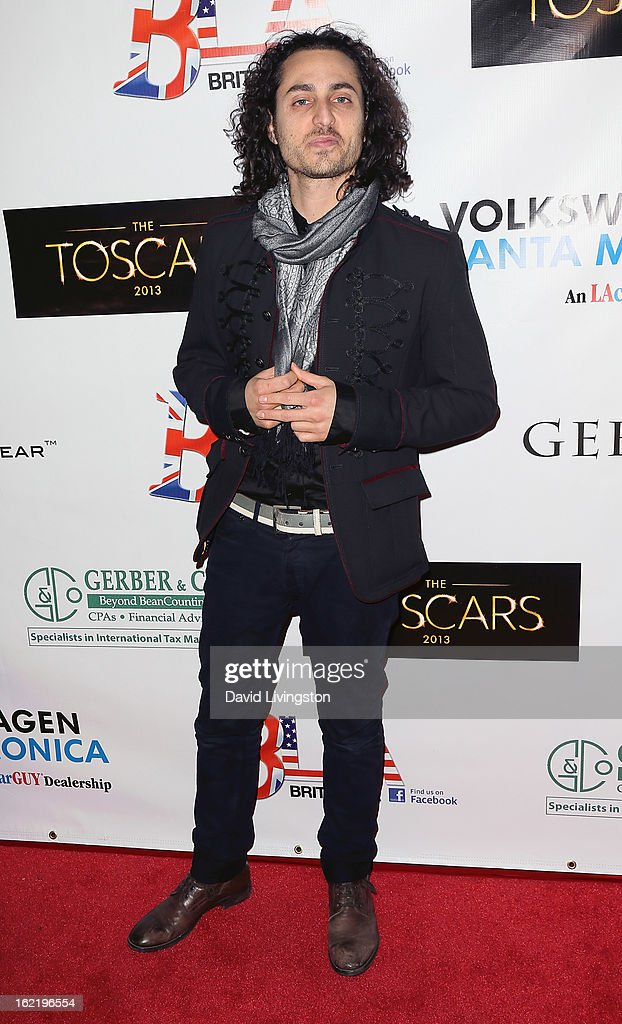 Musician Keaton Simons attends the 6th Annual Toscar Awards at the Egyptian Theatre on February 19, 2013 in Hollywood, California.