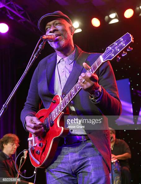 Musician Keb' Mo' performs onstage during the 2017 NAMM Show at the Anaheim Convention Center on January 20 2017 in Anaheim California