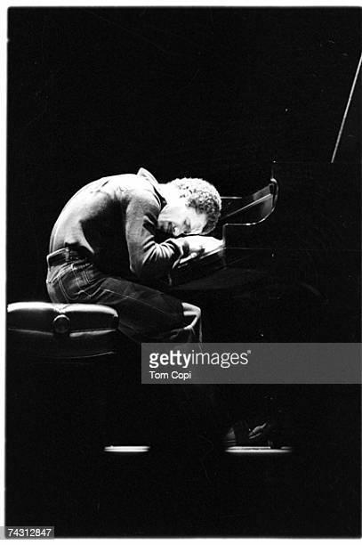 Musician Keith Jarrett performs in circa 1975 in San Francisco California