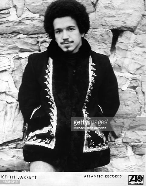 Musician Keith Jarrett poses for a portrait session in 1971 in Los Angeles California
