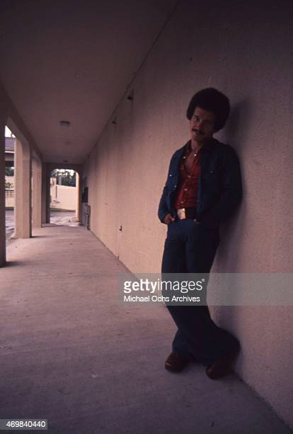 Musician Keith Jarrett poses for a portrait session in August 1975 in Los Angeles California