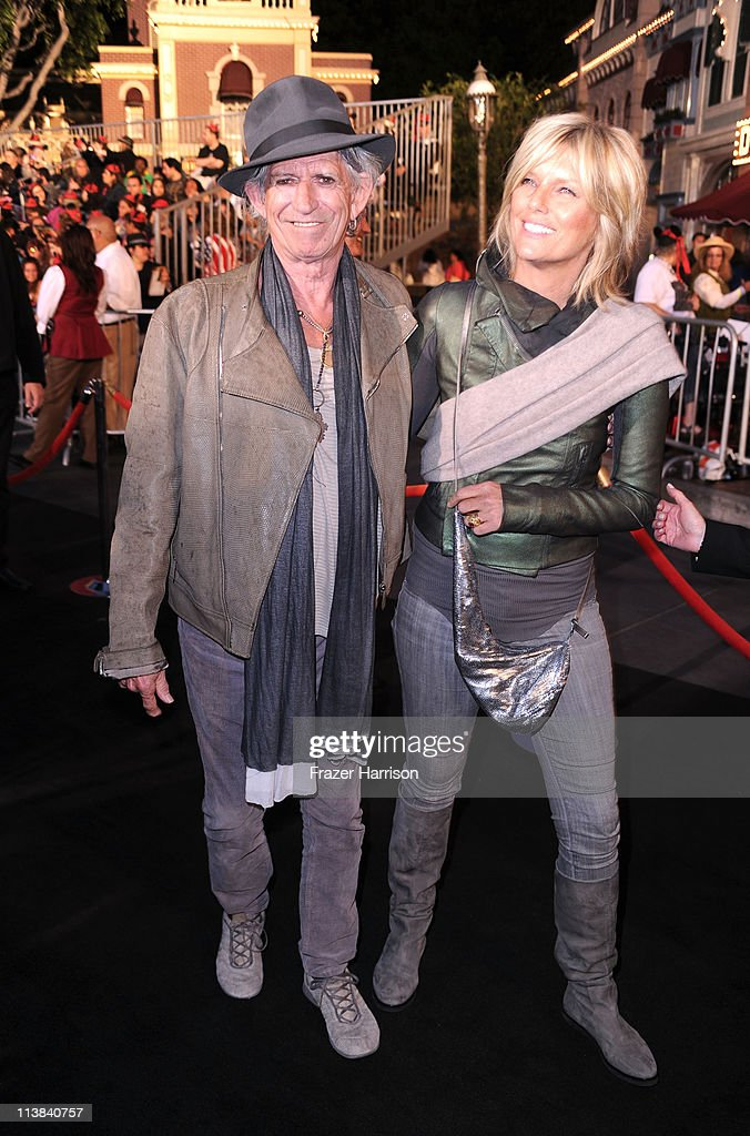 Musician <a gi-track='captionPersonalityLinkClicked' href=/galleries/search?phrase=Keith+Richards+-+Musician&family=editorial&specificpeople=202882 ng-click='$event.stopPropagation()'>Keith Richards</a> and Patti Hansen arrives at premiere of Walt Disney Pictures' 'Pirates of the Caribbean: On Stranger Tides' held at Disneyland on May 7, 2011 in Anaheim, California. Proceeds from the world premiere of Walt Disney Pictures' 'Pirates Of The Caribbean: On Stranger Tides' will benefit the Boys & Girls Clubs of America on May 7, 2011 in Anaheim, California.