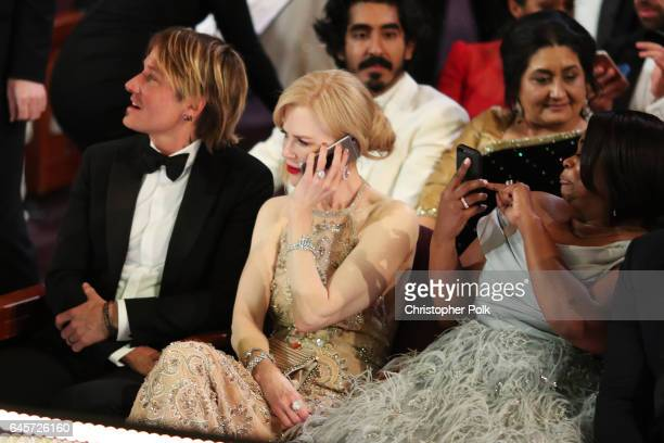 Musician Keith Urban and actor Nicole Kidman attend the 89th Annual Academy Awards at Hollywood Highland Center on February 26 2017 in Hollywood...