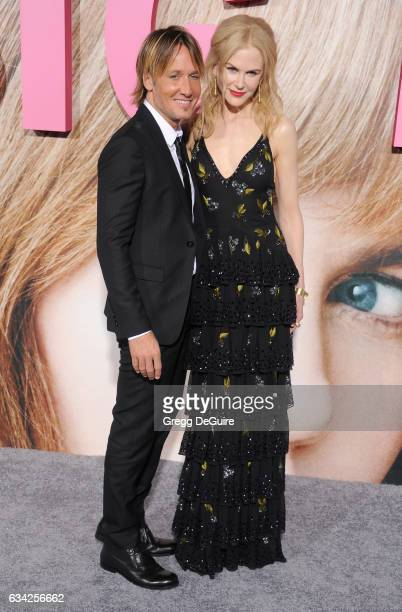 Musician Keith Urban and actress Nicole Kidman arrive at the premiere of HBO's 'Big Little Lies' at TCL Chinese Theatre on February 7 2017 in...