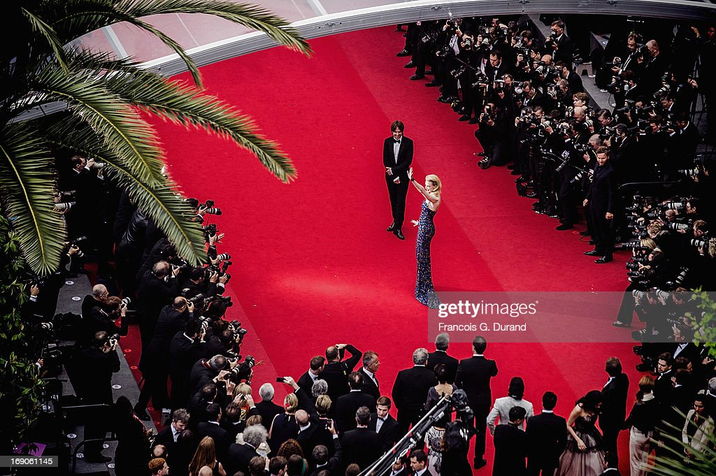 Musician Keith Urban and jury member actress Nicole Kidman attend the 'Inside Llewyn Davis' Premiere during the 66th Annual Cannes Film Festival at Palais des Festivals on May 19, 2013 in Cannes, France.