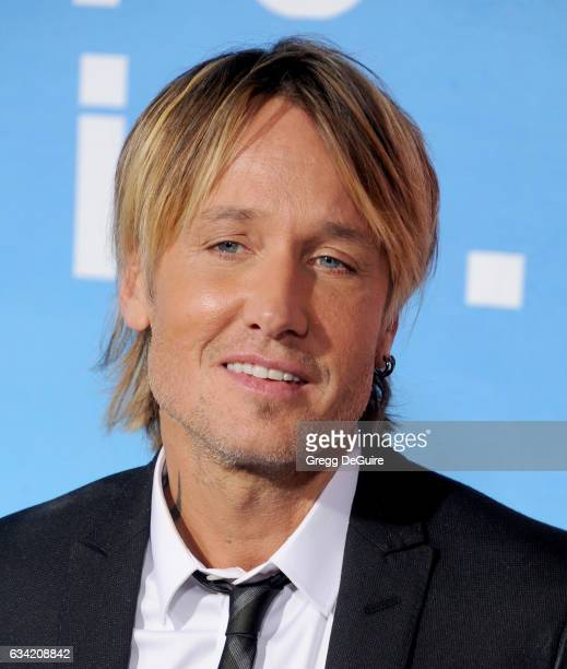 Musician Keith Urban arrives at the premiere of HBO's 'Big Little Lies' at TCL Chinese Theatre on February 7 2017 in Hollywood California