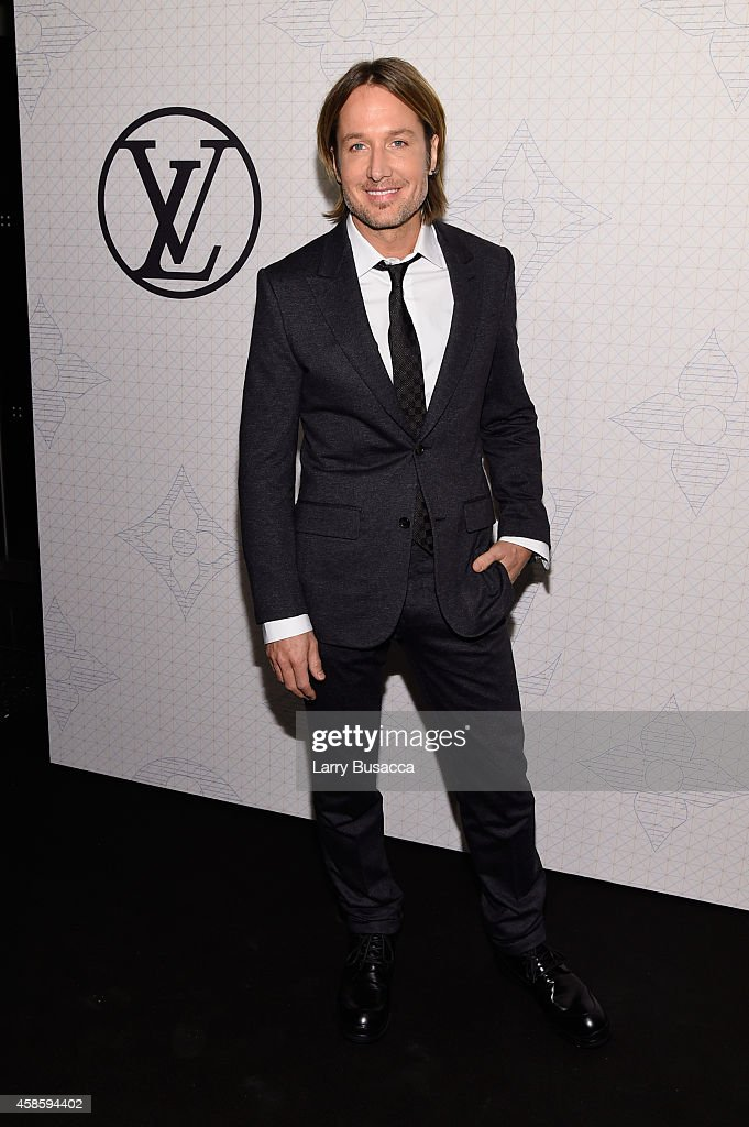 Musician <a gi-track='captionPersonalityLinkClicked' href=/galleries/search?phrase=Keith+Urban&family=editorial&specificpeople=202997 ng-click='$event.stopPropagation()'>Keith Urban</a> attends Louis Vuitton Monogram celebration at Museum of Modern Art on November 7, 2014 in New York City.