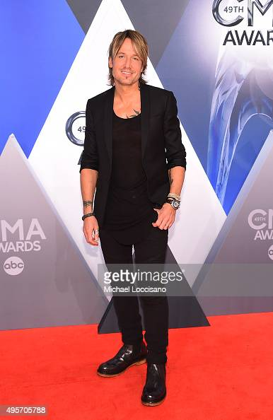 Musician Keith Urban attends the 49th annual CMA Awards at the Bridgestone Arena on November 4 2015 in Nashville Tennessee