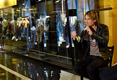 Musician Keith Urban attends the debut of the new 'Keith Urban So Far' exhibition at Country Music Hall of Fame and Museum rotunda on December 1 2015...