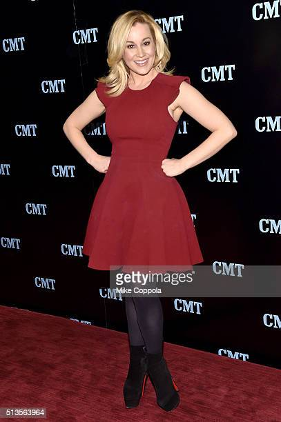 Musician Kellie Pickler attends the 2016 Viacom Kids and Family Group Upfront on March 3 2016 in New York City