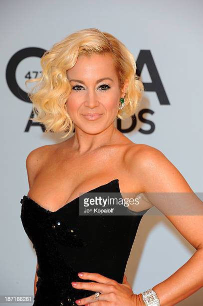 Musician Kellie Pickler attends the 47th annual CMA Awards at the Bridgestone Arena on November 6 2013 in Nashville Tennessee