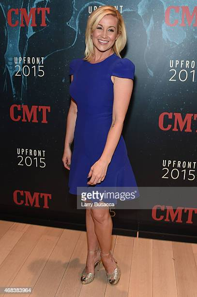 Musician Kellie Pickler attends the Annual 2015 CMT Upfront at The Times Center on April 2 2015 in New York City