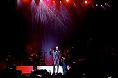 Musician KEM performs at Nokia Theatre LA Live on March 25 2015 in Los Angeles California