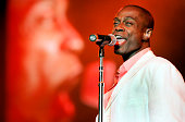 Musician Kem performs at the 2005 Essence Festival at the New Orleans Superdome on July 3 2005 in New Orleans Louisianna