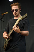 Musician Kendall Schmidt of the band Heffron Drive performs onstage at the Team USA Road To Rio send off event on July 23 2016 in Venice California