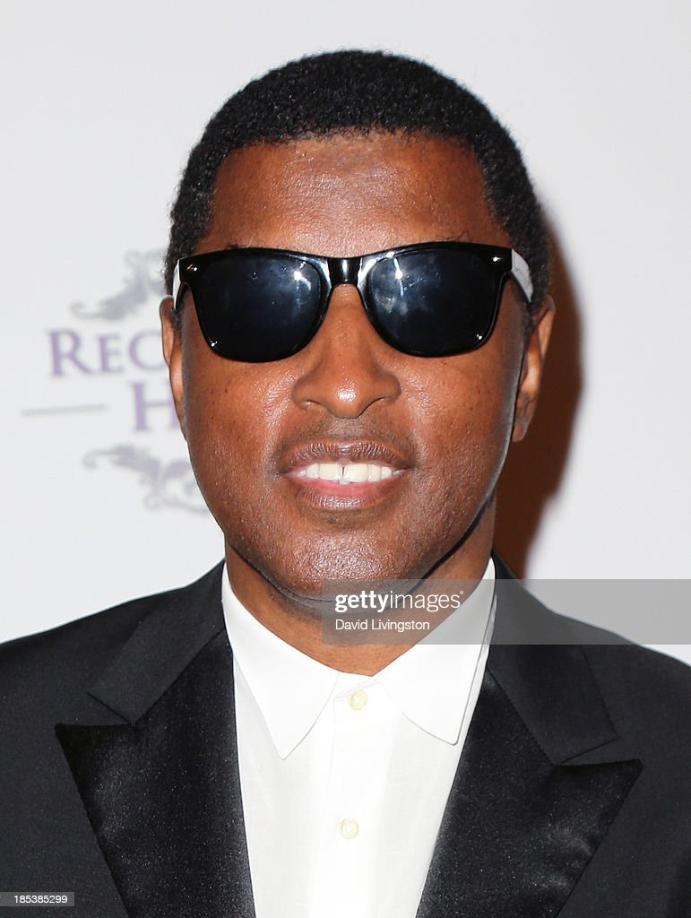 Musician Kenneth '<a gi-track='captionPersonalityLinkClicked' href=/galleries/search?phrase=Babyface&family=editorial&specificpeople=227435 ng-click='$event.stopPropagation()'>Babyface</a>' Edmonds attends the Unlikely Heroes' Recognizing Heroes Awards Dinner & Gala at The Living Room at The W Hotel on October 19, 2013 in Los Angeles, California.