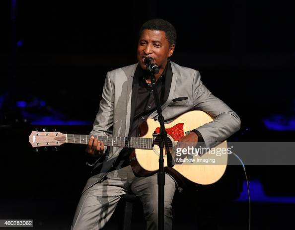 Musician Kenneth 'Babyface' Edmonds performs onstage at a PBS SoCal Holiday Celebration with David Foster and Friends at Dolby Theatre on December 10...