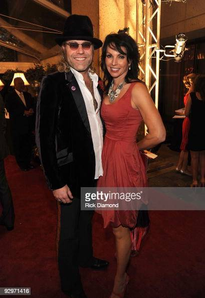 Musician Kenny Alphin of Big Rich and wife Christiev Alphin attends the 57th Annual BMI Country Awards at BMI on November 10 2009 in Nashville...