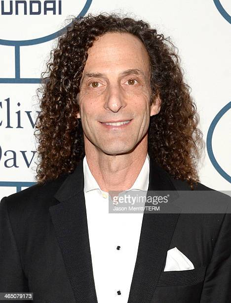 Musician Kenny G attends the 56th annual GRAMMY Awards PreGRAMMY Gala and Salute to Industry Icons honoring Lucian Grainge at The Beverly Hilton on...