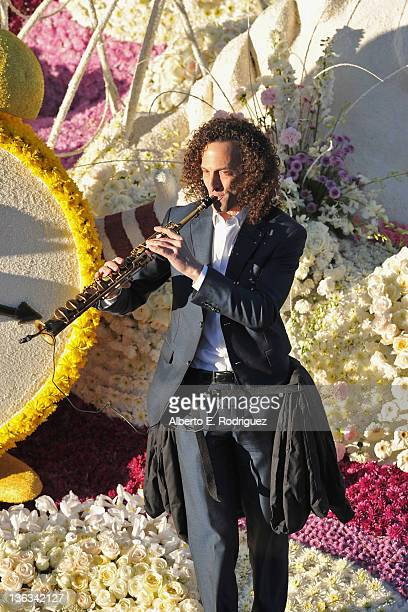 Musician Kenny G participates in the 123rd Annual Rose Parade on January 2 2012 in Pasadena California
