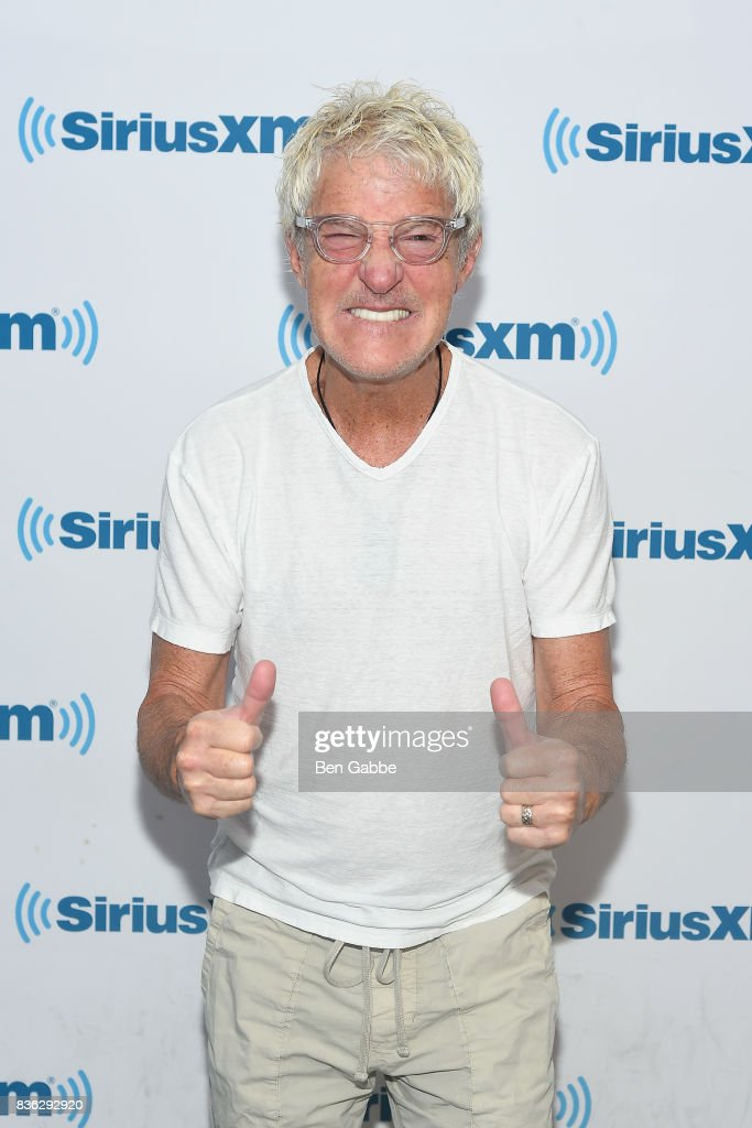 Musician Kevin Cronin visits SiriusXM Studios on August 21, 2017 in New York City.