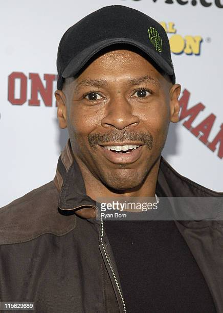 Musician Kevin Eubanks arrives at National Lampoon's Premier of 'One Two Many' at the Arclight Hollywood theatre on April 10 2008 in Los Angeles...