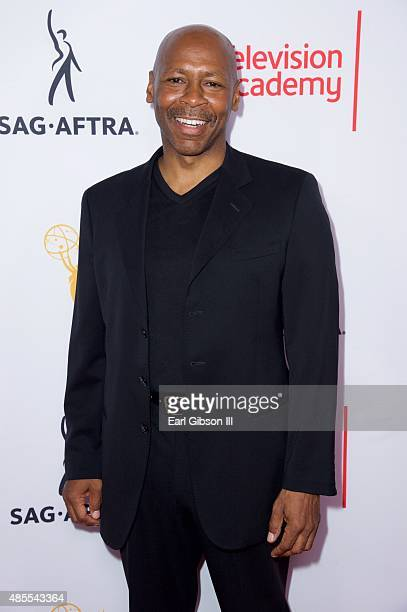 Musician Kevin Eubanks attends the Television Academy And SAGAFTRA Host Cocktail at Montage Beverly Hills on August 27 2015 in Beverly Hills...