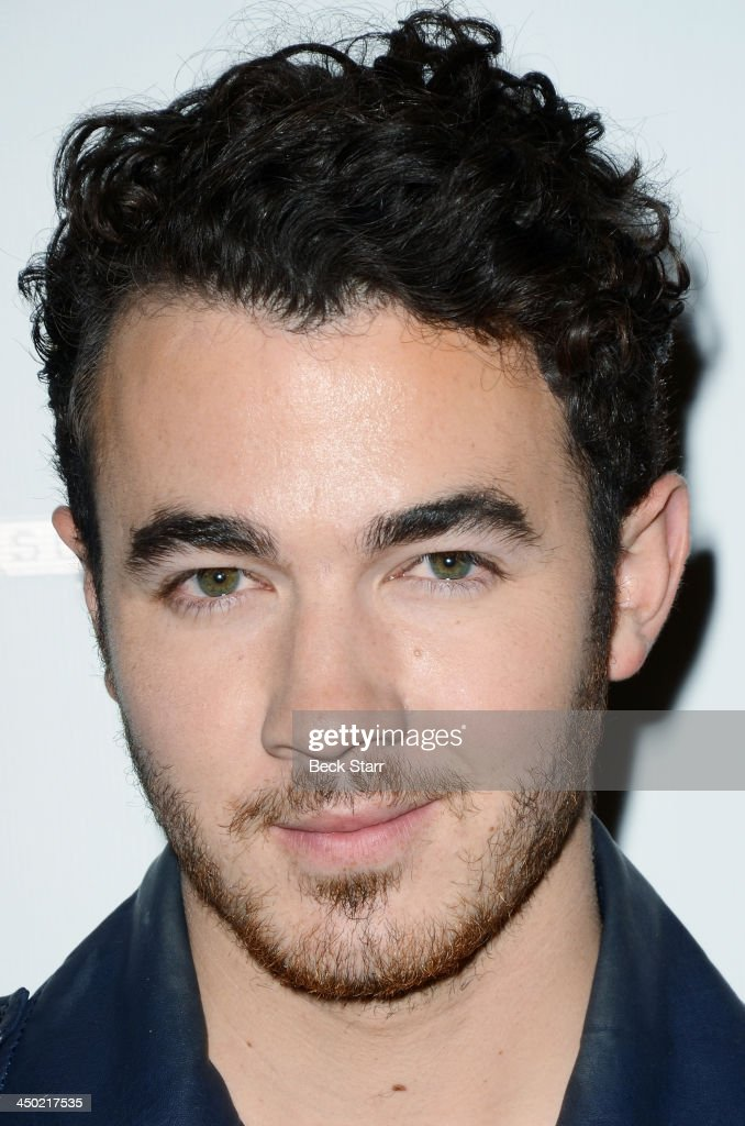 Musician Kevin Jonas arrives at Sunset Marquis Hotel 50th anniversary Birthday bash at Sunset Marquis Hotel & Villas on November 16, 2013 in West Hollywood, California.