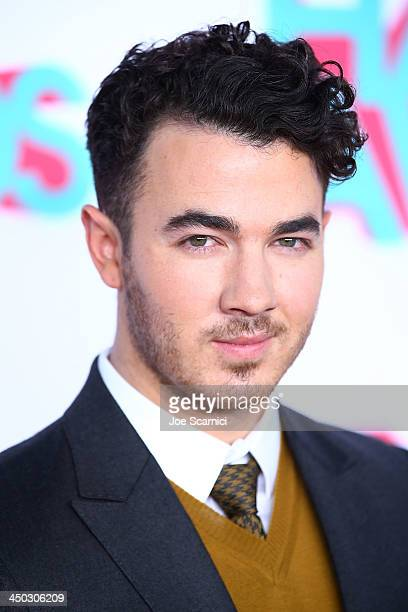 Musician Kevin Jonas arrives at the 2013 TeenNick HALO Awards at Hollywood Palladium on November 17 2013 in Hollywood California
